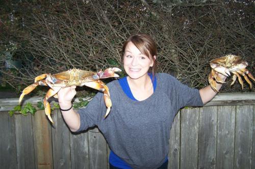 Netarts Bay crab