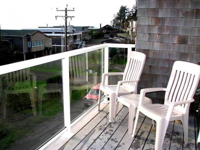 ocean bay view deck