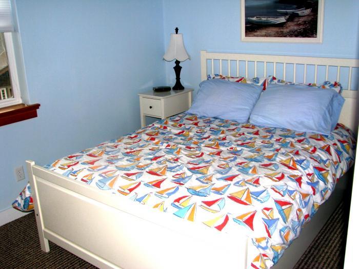 queen bed second floor