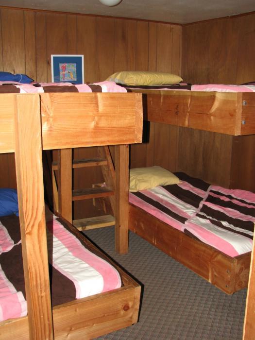 Homestead House bunkroom