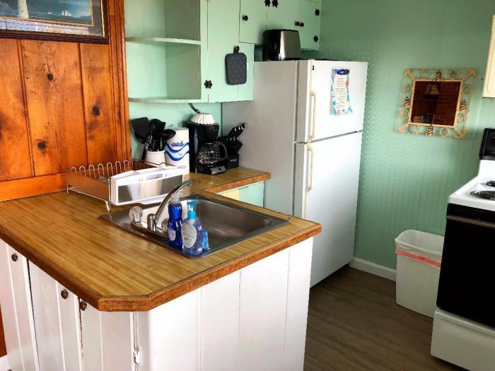 Anchor's Away kitchen