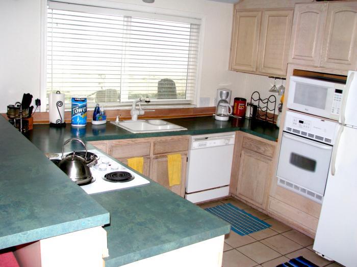 Sand Castle kitchen ocean view