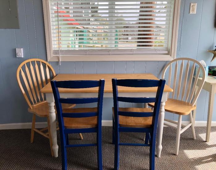 Nautical Star dining room