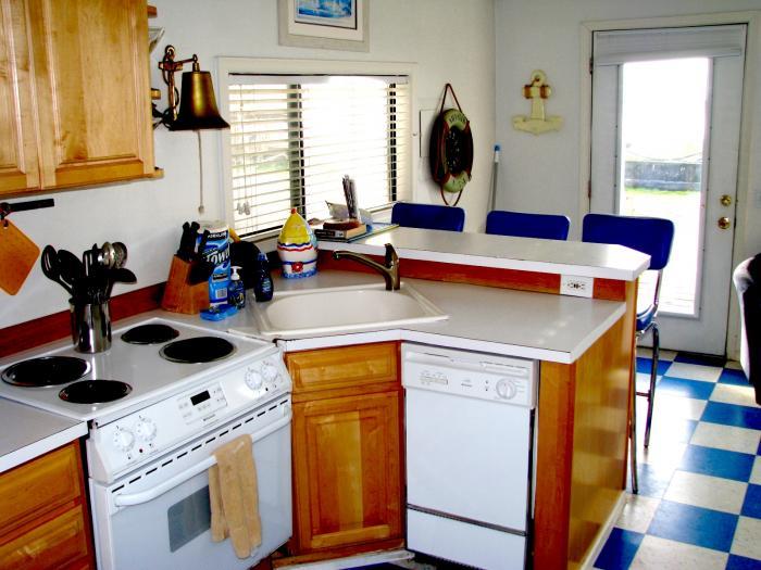 Couple's Retreat kitchen